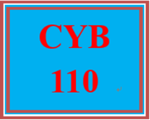 cyb 110 wk 1 - apply: threats to confidentiality, integrity, and availability