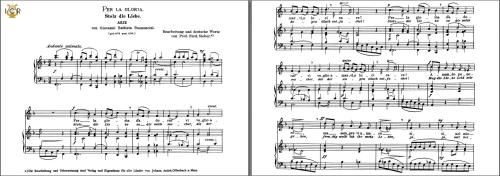 First Additional product image for - Per la gloria d'adorarvi, Medium Voice in F Major, G.B.Bononcini. Caecilia, Ed. André.Tablet Sheet Music (landscape)