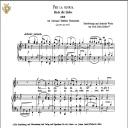 Per la gloria d'adorarvi, Medium Voice in F Major, G.B.Bononcini. Caecilia, Ed. André.Tablet Sheet Music (landscape) | eBooks | Sheet Music