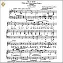Se tu m'ami, Medium Voice in F minor, G.B.Pergolesi. Caecilia, Ed. André.Tablet Sheet Music (Landscape) | eBooks | Sheet Music