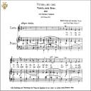 Vittoria, mio core, Medium Voice in C Major, G Carissimi. Caecilia, Ed. André.Tablet Sheet Music (Landscape) | eBooks | Sheet Music