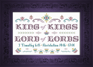 King Of Kings | Crafting | Cross-Stitch | Other