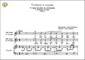 o cessate di piagarmi, low voice in d minor, a. scarlatti. caecilia, ed. andré. tablet sheet music (landscape)