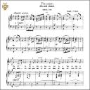 Pur dicesti, o boca bella, Low Voice in B-Flat Major, A Lotti. Caecilia, Ed. André. Tablet Sheet Music (Landscape) | eBooks | Sheet Music