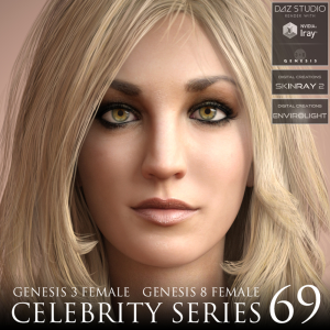 Celebrity Series 69 for Genesis 3 and Genesis 8 Female | Software | Design