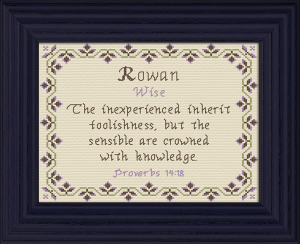name blessings - rowan 2