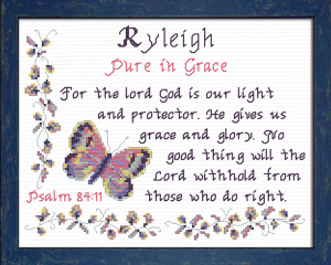 name blessings - ryleigh