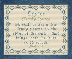 name blessings - leyton