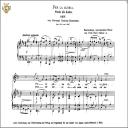 Per la gloria d'adorarvi, Low Voice in D Major, G.B.Bononcini. Caecilia, Ed. André.Tablet Sheet Music (Landscape) | eBooks | Sheet Music