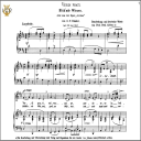 Verdi prati, Low Voice in D Major, G.F.Haendel. Caecilia,Tablet Sheet Music (Landscape) | eBooks | Sheet Music