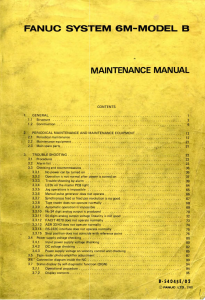 fanuc 6m-model b maintenance manual