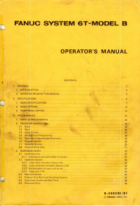 fanuc 6t-model b operator's manual