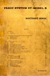 fanuc 6t-model b maintenance manual