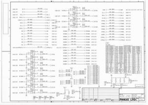 FANUC Beta i SVPM A20B-2101-0020 to 0025 (Full Schematic Circuit Diagram) | Documents and Forms | Manuals