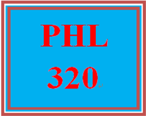 PHL 320T All Discussions | eBooks | Education