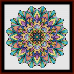 Mandala 57 cross stitch pattern by Cross Stitch Collectibles | Crafting | Cross-Stitch | Other
