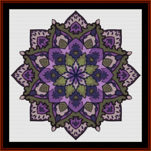Mandala 58 cross stitch pattern by Cross Stitch Collectibles | Crafting | Cross-Stitch | Other