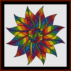 Mandala 60 cross stitch pattern by Cross Stitch Collectibles | Crafting | Cross-Stitch | Other