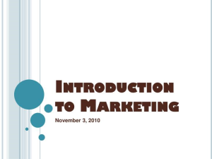 introduction marketing