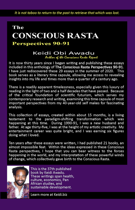 First Additional product image for - Conscious Rasta Perspectives 90-91 eBook
