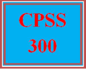 CPSS 300 Wk 4 Team - Helping Skills Case Study | eBooks | Education