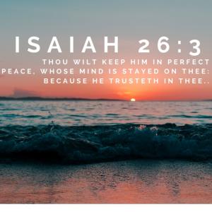 isaiah 26:3 worship instrumental