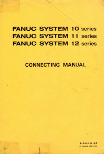 fanuc 10-11-12 m/t connecting manual