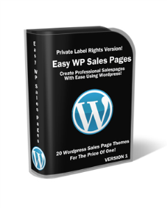 Easy Wordpress Sales Pages | Other Files | Graphics
