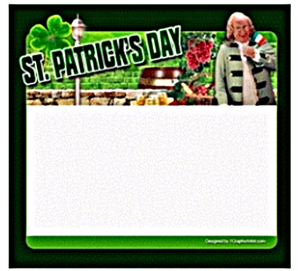 St. Patrick's Day Template 1 | Other Files | Graphics