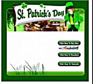 st. patrick's day template 2