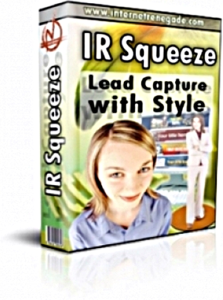 IR Squeeze - Lead Capture With Style | Other Files | Graphics