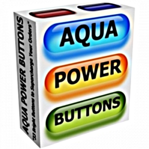 Aqua Power Buttons | Other Files | Graphics