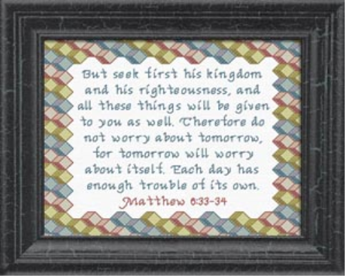 First Additional product image for - Seek First His Kingdom