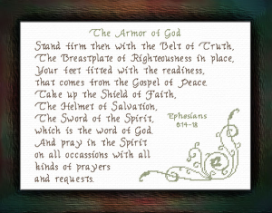 Armor Of God   Crafting   Cross-Stitch   Other
