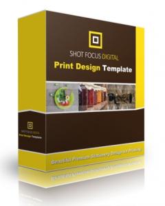 Shot Focus Print Design Template | Other Files | Graphics