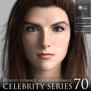 Celebrity Series 70 for Genesis 3 and Genesis 8 Female | Software | Design