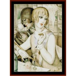 The Apertif – Gerda Wegener cross stitch pattern by Cross Stitch Collectibles | Crafting | Cross-Stitch | Other