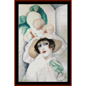Lili Elbe III – Gerda Wegener cross stitch pattern by Cross Stitch Collectibles | Crafting | Cross-Stitch | Other