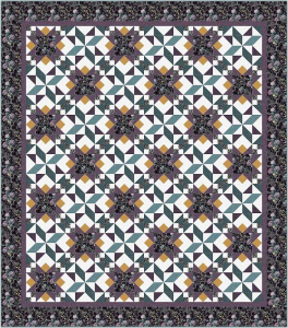 midnight gardens quilt pattern