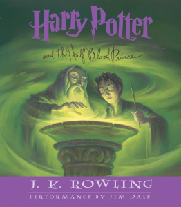 harry potter the half-blood prince rowling, j.k