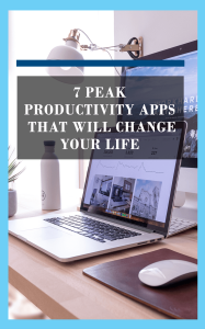 the peak productivity apps