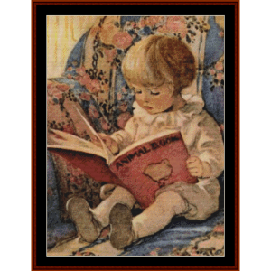 Toddling Boy – Jesse Willcox Smith cross stitch pattern by Cross Stitch Collectibles | Crafting | Cross-Stitch | Other