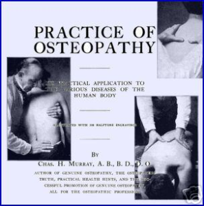 practice of osteopathy