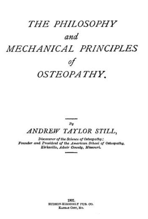First Additional product image for - The Philosophy and Mechanical Principles of Osteopathy
