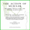 The Action of Muscles By William Colin Mackenzie | eBooks | Health