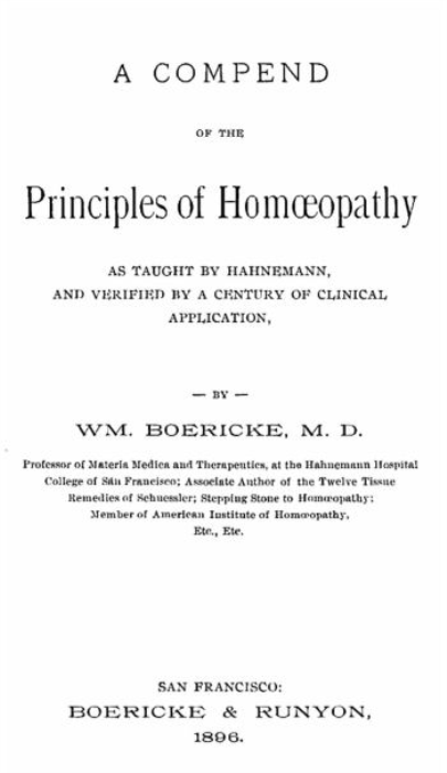 First Additional product image for - A Compend of the Principles of Homeopathy