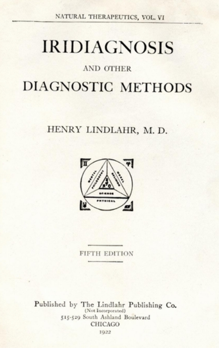 First Additional product image for - Iridiagnosis And Other Diagnostic Methods