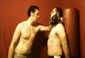 jock boxing beatdown