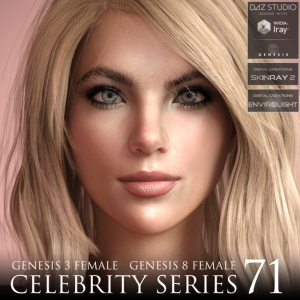 Celebrity Series 71 for Genesis 3 and Genesis 8 Female | Software | Design