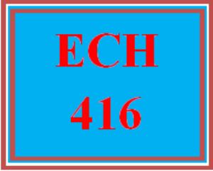 ech 416 wk 3 discussion - childhood mathematics curriculum